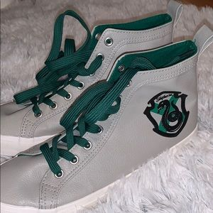 🐍Harry Potter Slytherin High Top Sneakers🐍